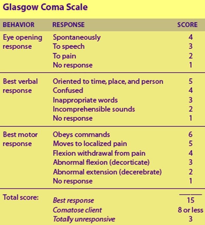 trauma evaluation scale